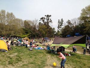 1大阪の服部緑地公園でバーベキュー婚活